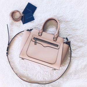 Rebecca Minkoff Blush Saffiano Leather Bag